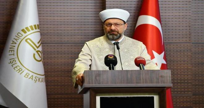 Erbaş, Ramazan Buluşmalarına katılacak görevlilerle buluştu