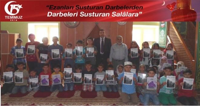 Van-Bahçesaray'da Yaz Kur'an Kursları Şehitlerimizi Anma Özel Programı