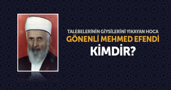 Ömrünü Hayra Hizmet İçin Adayan Âlim, Gönenli Mehmet Efendi