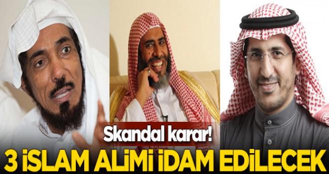üç İslam alimini Ramazan'dan sonra idam edecek