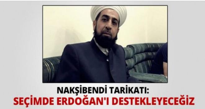 Nakşibendi önderlerden Erdoğan'a bir destek daha