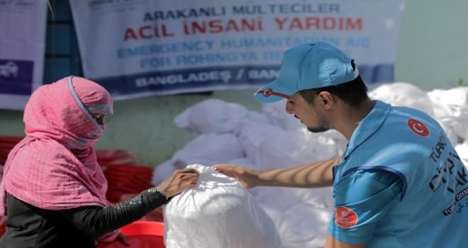 Türkiye Diyanet Vakfı'ndan 100 bin Arakanlı'ya acil insani yardım