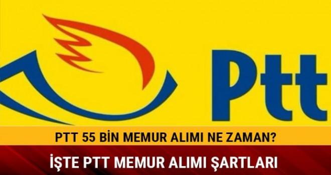 PTT 55 bin personel alacak- Şartlar nelerdir?