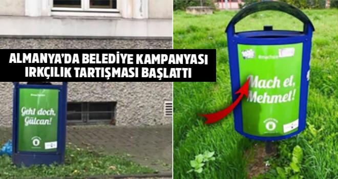 Almanya'da belediyenin temizlik kampanyası Türkleri kızdırdı
