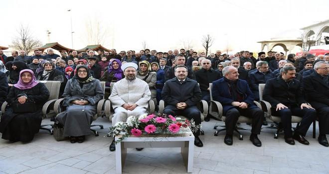 Başkan Erbaş, İmam-ı Azam Yatılı Hafızlık Kur'an Kursunu açtı