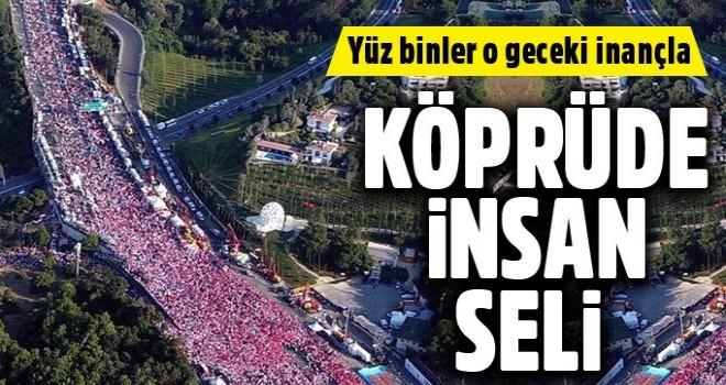 15 Temmuz'un yıldönümünde Türkiye meydanlarda