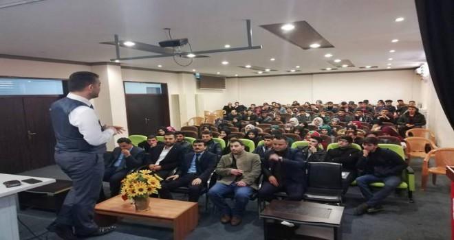 Sait Çamlıca'dan Hakkâri Şemdinli'de 5 konferans...