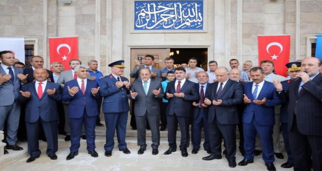 Etimesgut 3. Hava İkmal Bakım Merkezi Komutanlığı Camii ibadete açıldı