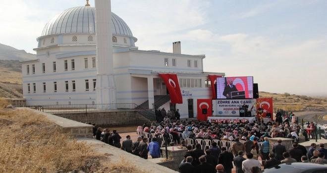 Develi Zöhre Ana Camii ve Kur'an Kursu Açıldı