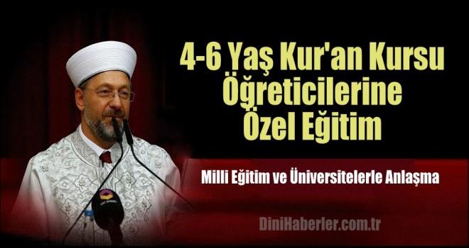 4-6 Yaş Kur'an Kursu Öğreticilerine Özel Eğitim