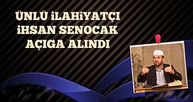 Ünlü ilahiyatçı İhsan Şenocak açığa alındı...
