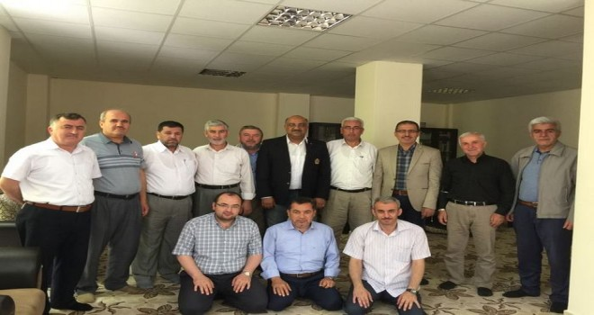 Kahramanmaraş Din Görevlileri Derneği  200 üyeyle genel kurula gitti…