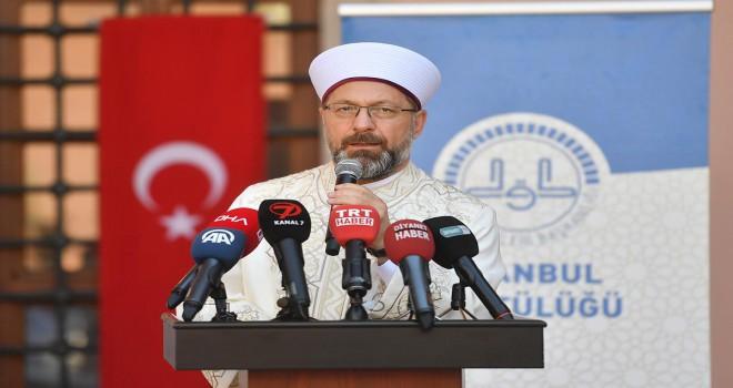 Erbaş'tan ilahiyat ve İHL hocalarına önemli çağrı