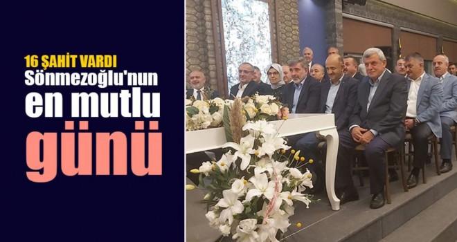 Bol Şahitli Nikah..Müftü Sönmezoğlu'nun en mutlu günü