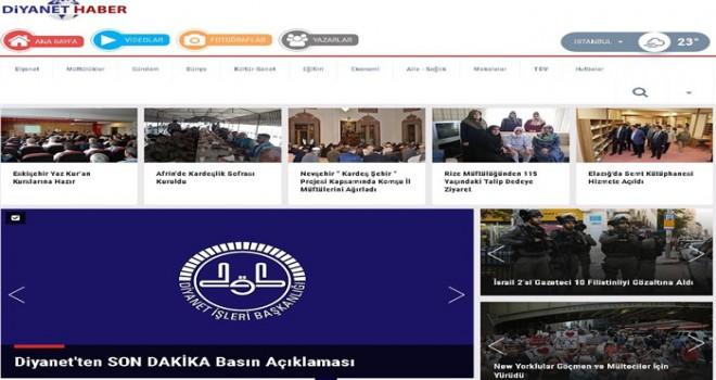 Diyanet'in Haber Sitesi Açıldı