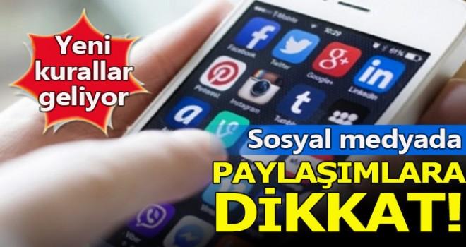 Sosyal medya paylaşımlarına dikkat, Cezanız katlanır!