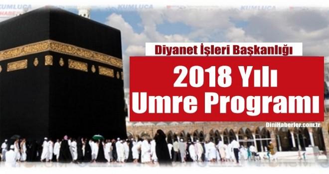 Diyanet İşleri Başkanlığı 2018 Umre Programı