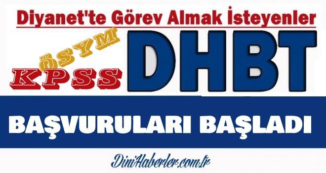 DHBT Başvuru Sistemi Erişime Açıldı