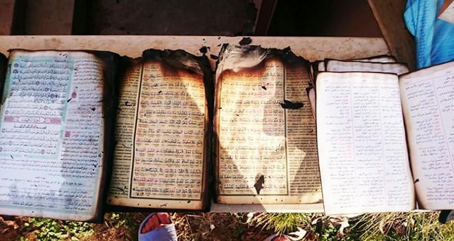 Kur'an Kursunu Kundakladılar