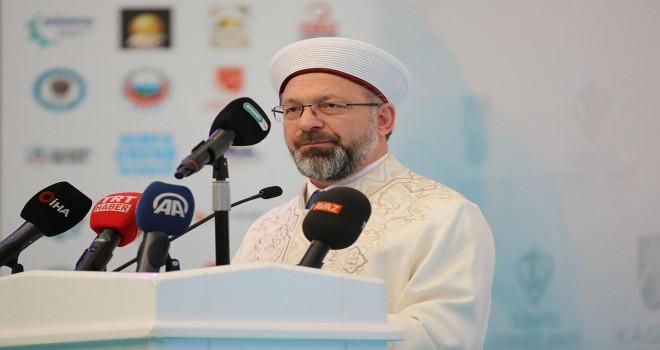 İstikametini Kur'an-ı Kerim'den ve Sünnetten alan bir gençlik yetiştirmeye çalışıyoruz