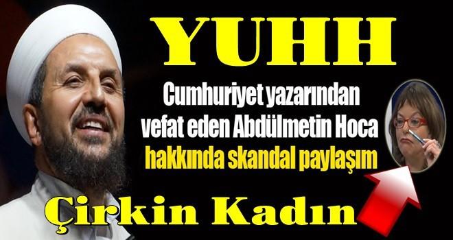 Mine Kırıkkanat'tan skandal Abdülmetin Balkanlıoğlu tweeti!