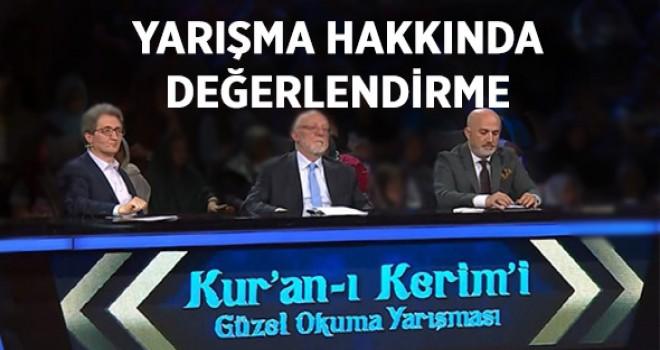 TRT'de yayımlanan Kur'an-ı Kerim'i Güzel Okuma Yarışması