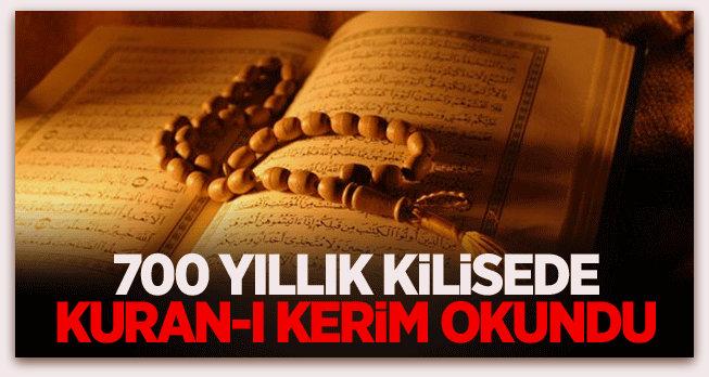 700 yıllık Lorenz Kilisesi\'nde Kuran-ı Kerim okundu