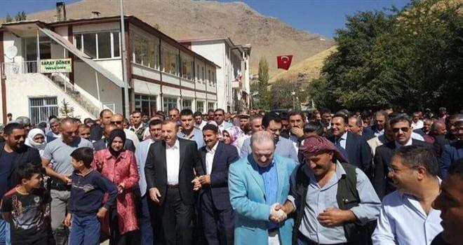 Esenyurt Belediye Başkanı Necmi KADIOĞLU, Van-Bahçesaray'ı ziyaret etti.
