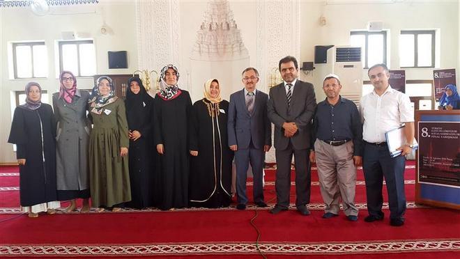 8. Kadın Din Görevlileri Arası Kur\'an-ı Kerimi Güzel Okuma Yarışması Aksaray\'da Yapıldı