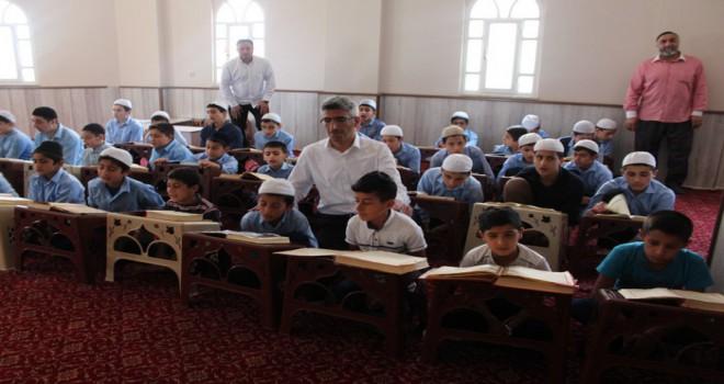 Siirt'te camiler çocuk sesleriyle şenlendi