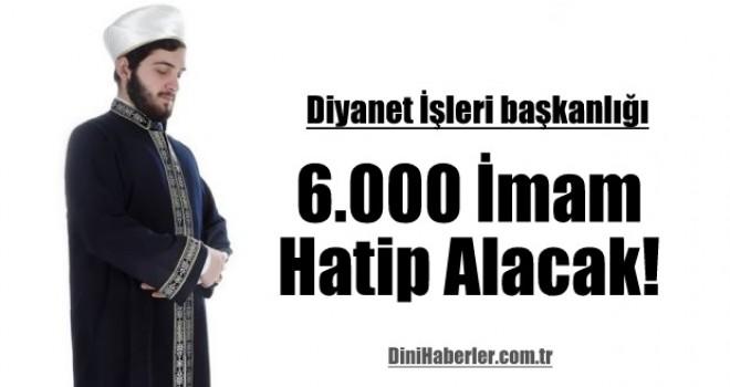 Diyanet bir 6 bin imam daha alacak!