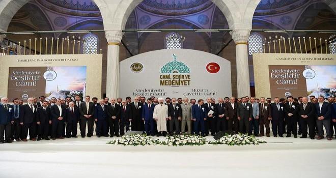 Camiler ve Din Görevlileri Haftası 'Cami, Şehir ve Medeniyet' temasıyla başladı…