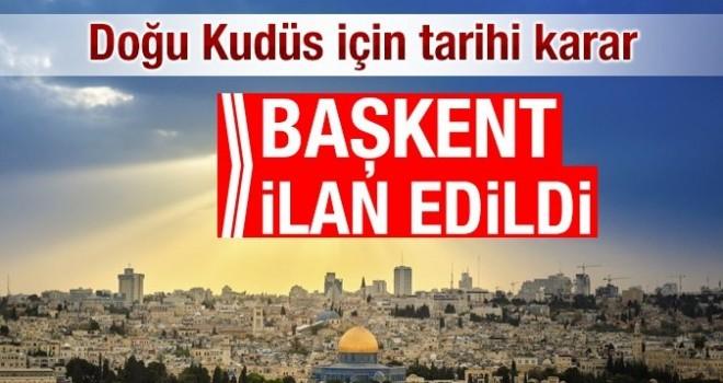 Son dakika! İ.İ.T. Doğu Kudüs'ü Filistin'in başkenti ilan etti