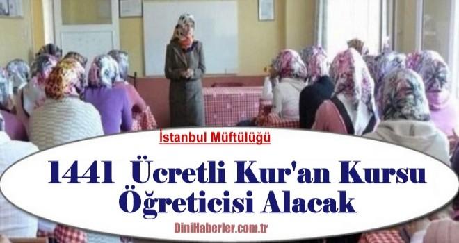 Geçici Kur'an Kursu Öğreticisi Alım İlanı