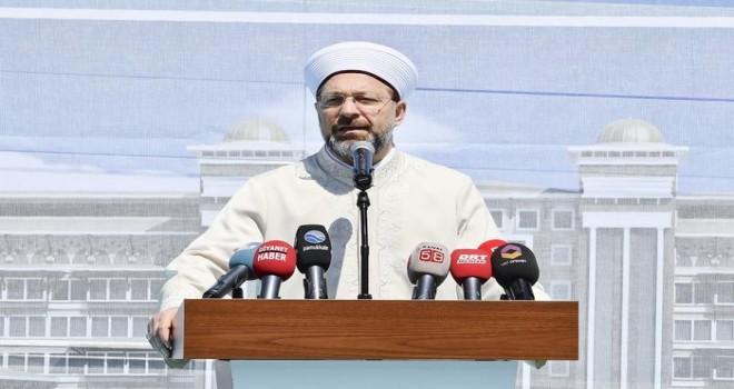 Denizli Dini Yüksek İhtisas Merkezi'nin temeli atıldı