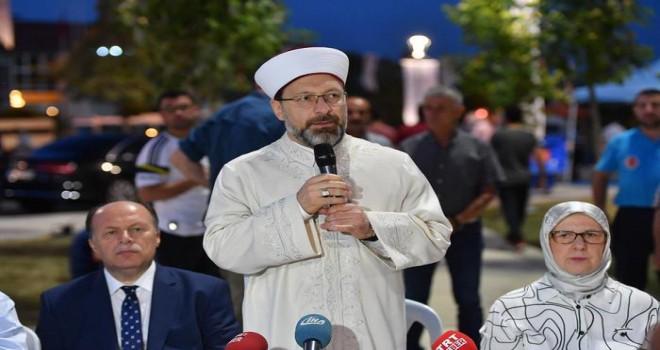 Başkan Erbaş, çocukları yaz Kur'an Kerim kurslarına davet etti