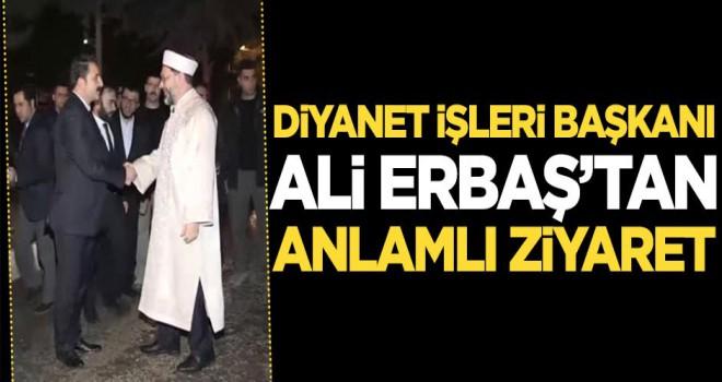 Diyanet İşleri Başkanı Erbaş, Mardin'de, 'Din, diyanet milletimizin çimentosudur'