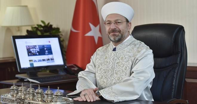 Erbaş'dan Ramazan Ayı Mesajı
