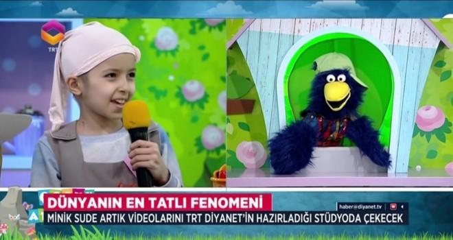 TRT Diyanet'ten Minik Sude'ye destek