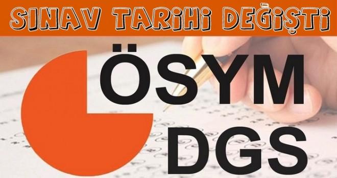 DGS Sınav Tarihi Değişti