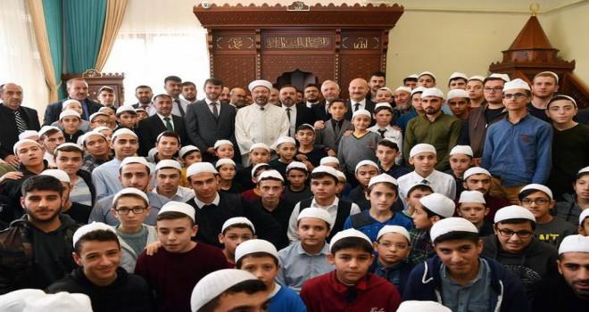 15 Temmuz Şehitler Yatılı Erkek Hafızlık Kur'an Kursu dualarla açıldı