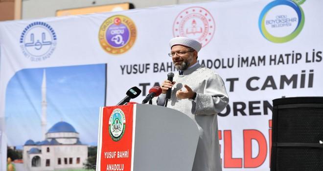 İmam Hatip Lisesi Camii ve Bulancak İlçe Müftülüğü hizmet binası dualarla açıldı