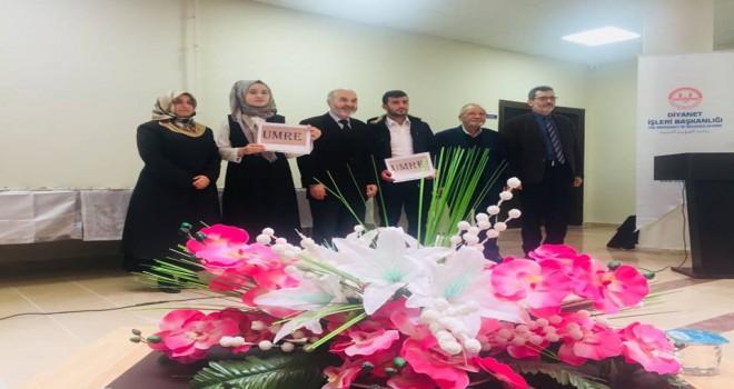 Tekirdağ'da Öğrenciler Umre Ödülü Kazandı