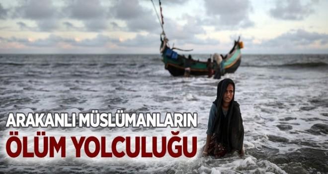 Arakanlı Müslümanların ölüm yolu