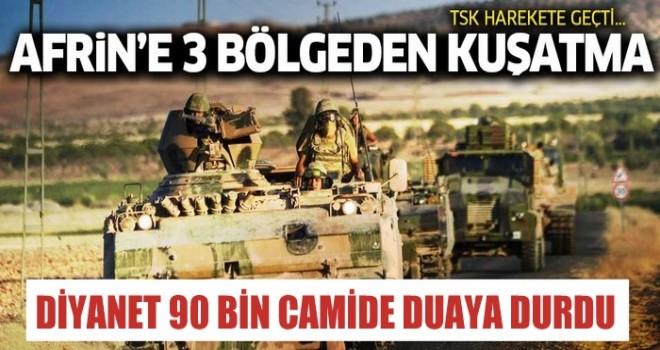 90 bin camide kahraman askerimiz için dua edilecek