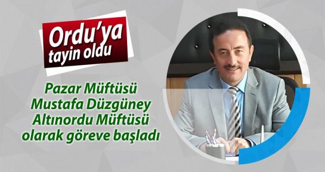 Mustafa Düzgüney Altınordu Müftülüğüne atandı