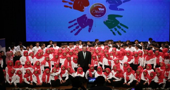 Erdoğan, Diyanet Yaz Kampları kapanış Programında