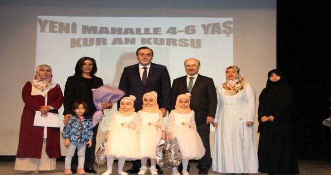 Yenimahalle 4-6 yaş Kur'an Kursu Sanedeydi