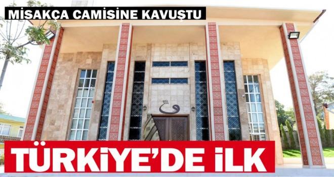 Türkiye'nin İlk Kompozit Camii Bandırma'ya İnşa Edildi