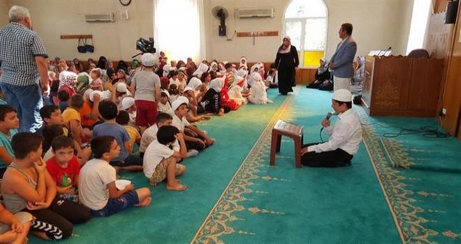 Osmaniye'de Cami-Çocuk Buluşması Etkinliği
